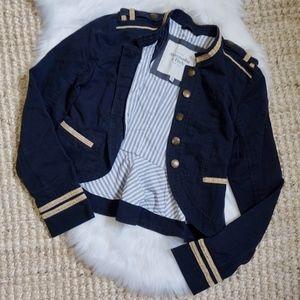 Abercrombie & Fitch Peplum Military Jacket Size M